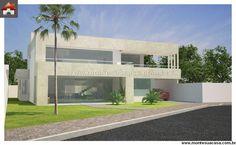 Planta de Sobrado - 3 Quartos - 253.02m² - Monte Sua Casa