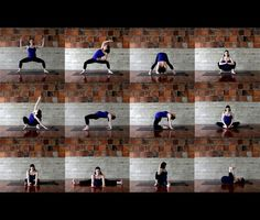 Prenatal Yoga Sequence.   These body weight movements are designed to work you core, upper back, quads, and glutes.  www.hubbubhealth.com