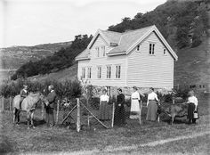 House and family, ca 1890-1910. | Flickr - Photo Sharing!
