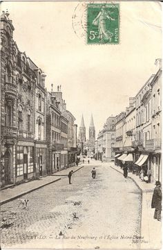 St Lo Normandy before WW2 destruction.  http://www.normandythenandnow.com/a-red-jumper-the-major-of-saint-lo-two-sides-of-1944/