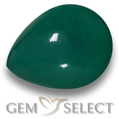 GemSelect features this natural Agate from India. This Green Agate weighs 8.1ct and measures 14.7 x 11.4mm in size. More Pear Cabochon Agate is available on gemselect.com #birthstones #healing #jewelrystone #loosegemstones #buygems #gemstonelover #naturalgemstone #coloredgemstones #gemstones #gem #gems #gemselect #sale #shopping #gemshopping #naturalagate #agate #greenagate #peargem #peargems #greengem #green Green Gemstones, Loose Gemstones, Natural Gemstones, Agate Gemstone, Gemstone Colors, Buy Gems, Gem Shop, Green Agate, Shades Of Green