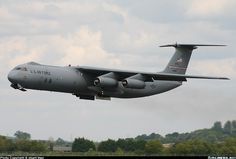 61 2775 USA Air Force Lockheed C 141 Starlifter at Dover
