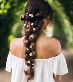 Indian Hairstyles - Daisy Braid