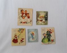 Collection of 1950s Christmas Cards by HappyCloudVintage on Etsy, $4.50