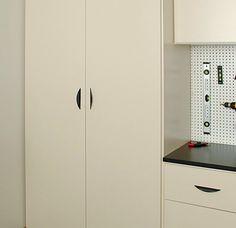 #Garage #Drawer With Ball Bearing Gildes. Www.closetsbydesign.com  1 800 293 3744 | Garage Features | Pinterest | Custom Garages, Garage  Storage Solutions ...