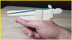 How to Make a Rubber Band Gun Rubber Band Gun, Pocket Pistol, Airsoft Guns, How To Make, Diy, Accessories, Bricolage, Diys, Handyman Projects