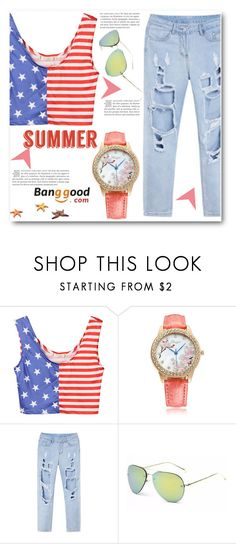 """Banggood 1"" by edy321 ❤ liked on Polyvore"