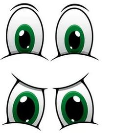 Cartoon Eyes, Cartoon Drawings, Eyes Clipart, Eye Stickers, Snowman Faces, Clay Pot Crafts, Art Drawings For Kids, Face Expressions, Tole Painting