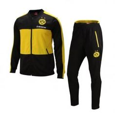 Dortmund 16-17 Season Soccer Yellow&Black Outfit [I801]