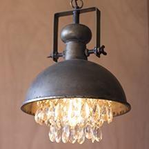 Vintage Antique Lighting Black Cast Iron Kitchen Dining