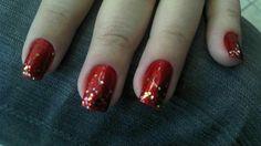 Vermelho + gliter