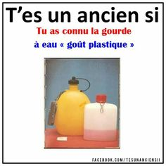 Gourde... Funny Moments, Old School, Water Bottle, Ads, Type 3, 1970s, Vintage, Facebook, Photos
