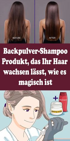Baking soda shampoo: product that makes your hair grow, like .- Backpulver-Shampoo: Produkt, das Ihr Haar wachsen lässt, wie es magisch ist Baking soda shampoo: product that makes your hair grow as it is magical - Baking Soda For Dandruff, Baking Soda For Hair, Baking Soda Shampoo, Baking Soda Water, Shampoo For Curly Hair, Natural Shampoo, Beauty Tips For Face, Beauty Hacks, Beauty Ideas