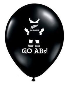 Support your favourite rugby team with these Go All Blacks Rugby Balloons! Perfect for a get together to watch the big game or for a rugby themed party. Kids Party Hire, All Black Party, All Blacks Rugby, Black Balloons, Rugby World Cup, Kids Playing, Party Supplies, Party Themes, Skipping Rope