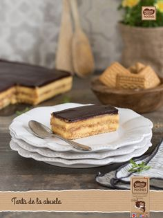 Recetas, consejos y trucos Spanish Desserts, Summer Desserts, Fondant Cakes, No Bake Cake, Cooking Time, Camembert Cheese, Food And Drink, Sweets, Baking