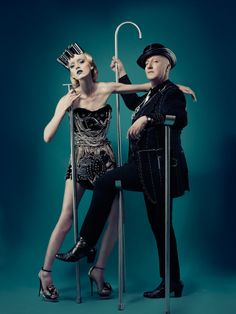 As I see it ! Armin Weisheit | The fabulous Milliner Stephen Jones and his Model...