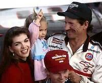 Dale Sr, Dale Jr, Taylor and Teresa