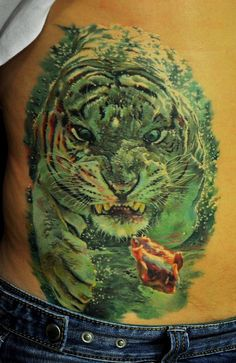 Underwater tiger tattoo; your argument is invalid -  Dmitriy Samohin