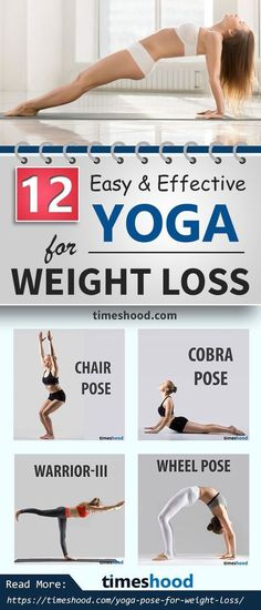 12 yoga for beginners weightloss. Your weight loss mechanism depend upon the yoga you select to burn extra fat. Begin with these effective yoga pose for weightloss. Full body beginners yoga workout for weight loss. Quick Weight Loss Tips, Weight Loss Help, Yoga For Weight Loss, Weight Loss Plans, Workout Hiit, Beginner Cardio Workout, Easy Workouts, Yoga Workouts, Yoga Exercises