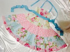 Girl Dress Size 5-6; Tany Ellie Halter; Handmade; Everyday Use; 100 % Cotton #Handmade #DressyEverydayHoliday