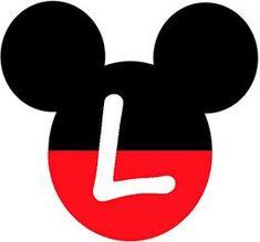Abecedario en Cabezas de Mickey Mouse. Mickey Heads with Alphabet. Banner Letters, Diy Letters, Mickey E Minie, Mini Mouse, Mickey Mouse Birthday, Disney Diy, Cricut Creations, Mouse Parties, Initials