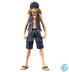 One Piece Movie Gold – Monkey D.Ruffy Figur – The Grandline Men Vol.1 / DXF: Banpresto
