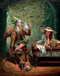 Michael Cheval ''Tea for One''