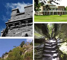 Hawkstone Follies. A magical place of caves, ravines, high climbs and breathtaking views.
