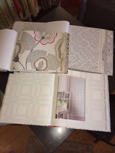 We have an extensive collection of wallpaper books in-store!  Stop by Endless Ideas Interiors today to speak with one of our designers for assistance with selecting the perfect wallpaper for your next project! #EndlessIdeas