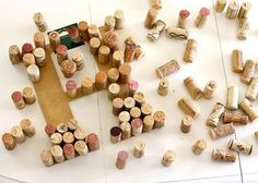 海外DIYの定番*ワインコルクで作るウェディング小物アイデア♡