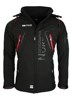 4H3 Geographical Norway Tambour Herren Softshell Jacke Outdoor Schwarz L 86e0ebbbe3