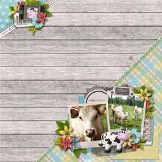 Oinka-doodle-moo by Digilicious design. Summer shadowbox cookie by Carrie Randolph.