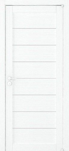 "Межкомнатная дверь ""2125"", по, белый велюр"