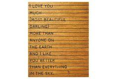 I Love You Much on OneKingsLane.com