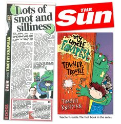 Sarah Horne book was featured in the Sun