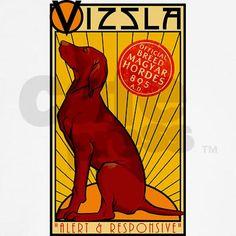 """Vizsla: alert & responsive... not so sure about the """"responsive"""" part"""