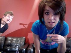 Christina Grimmie and Tyler Ward
