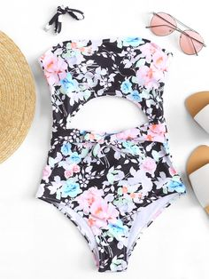 cd7ea0c900862 45 Best Plus Size - Floral Print Swimsuit Bikini's images in 2019