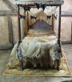 Halloween Crazy — decadent-dollhouse: Miniature Haunted House by...