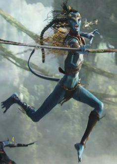 Tsutey, leader of the Na'vi