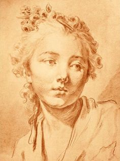 Жан-Батист Грез (Jean-Baptiste Greuze, 1725-1805, French painter)