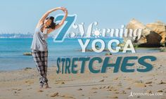 Stretching eases stiffness, soreness, and can help diminish chronic aches and pains. Enjoy these seven morning yoga poses from the comfort of your sheets.