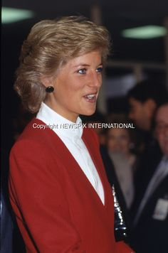 February 3, 1989:  Princess Diana visits a pediatric AIDS unit at Harlem Hospital and a visit to the residence of the British consul in New York, New York.