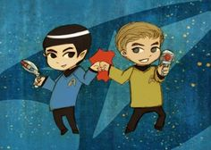 Trekkie Bro Power by theGorgonist on Etsy, $7.00
