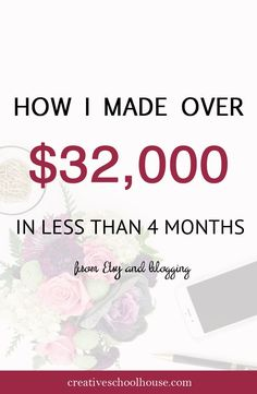 Notice a change? We're rebranding over the next couple weeks and can't wait to show off the finished product! Recently, I shared with my newsletter members some insider tips on how I grew my 6 figure handmade business in 2014 and 2015 before deciding to pursue Creative Schoolhouse full time. I received great …