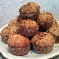 Zserbó muffin Recept képpel -   Mindmegette.hu - Receptek Health Eating, Cookie Desserts, Cake Cookies, Baby Food Recipes, Food And Drink, Sweets, Snacks, Chocolate, Baking