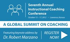 Seventh Annual Instructional Coaching Conference: A Global Summit on Coaching. October 15-17. Register now!