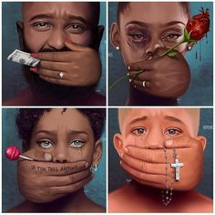 So Deep... I debated on whether I should post.... But honestly someone needs to start the conversation. And I've lived to talk about a few painful experiences as well. Abuse in ANY and ALL forms is NEVER ok! It's time we #breakthesilence And protect our youth and of course each other. Praying for your healing.