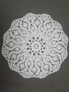 Chartres Cathedral Doily 2 mm hook
