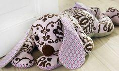 free pattern - Stoffhund nähen - kostenloses Schnittmuster